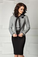 Compleu Leonard Collection rochie sacou de lux