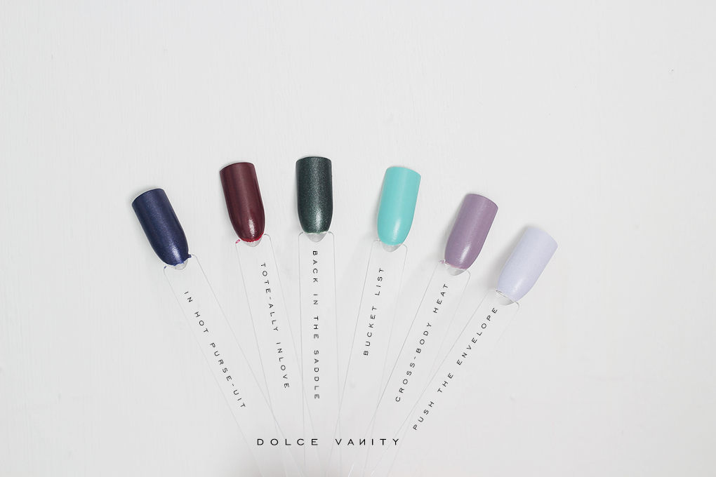 Essie leathers collection by Rebecca Minkoff 2017   Dolce Vanity ...