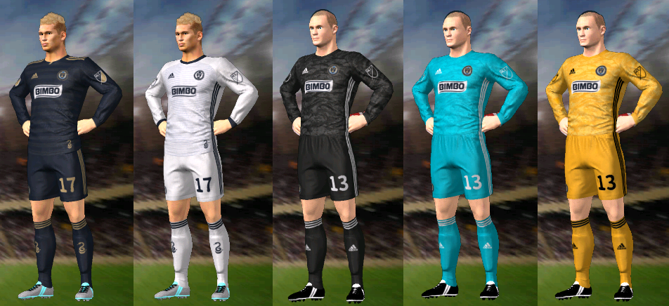 Update, Kits/Uniformes Philadelphia Union