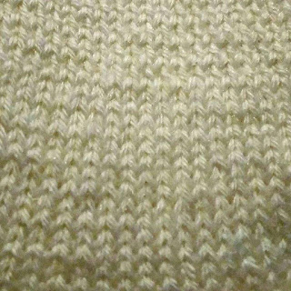 Stockinette Stitch Closeup