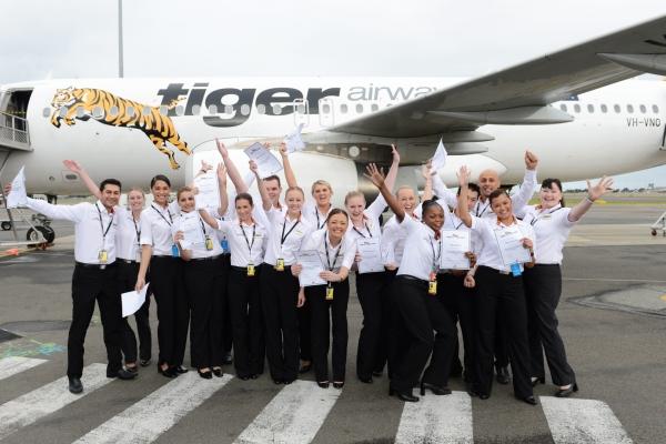 Nhân viên Tiger Air