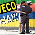 Você pediria um beijo para uma policial? Eles sim!!!