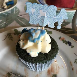 It's a Boy Cupcake