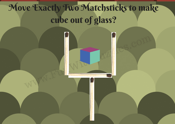 Matchstick Puzzle for kids-Glass