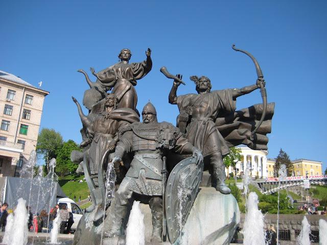 Богатыри на Майдане