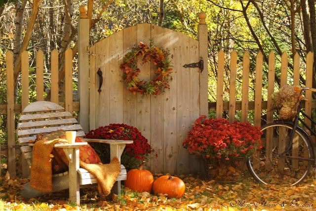 Fall Scenes Wallpaper With Pumpkins Aiken House Amp Gardens Sunny Autumn Respite