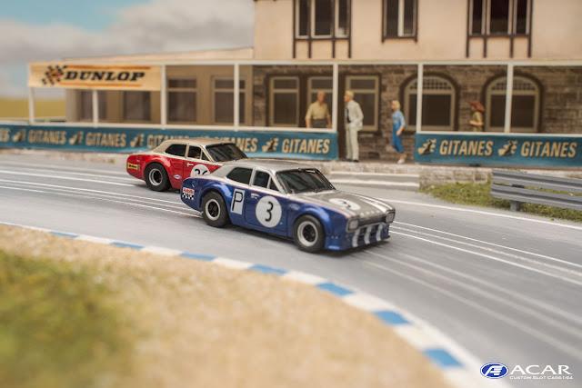 Alan Mann Racing FORD ESCORT Nürburgring Custom Slotcar