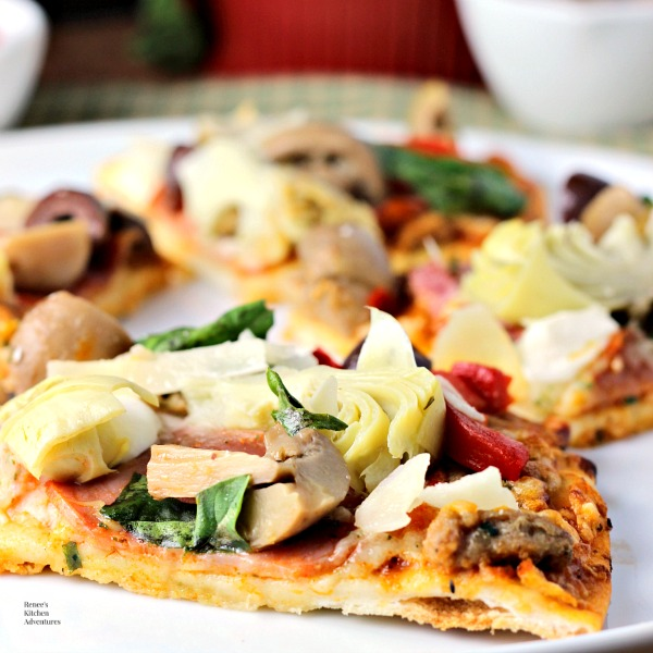 Quick Antipasto Pizza