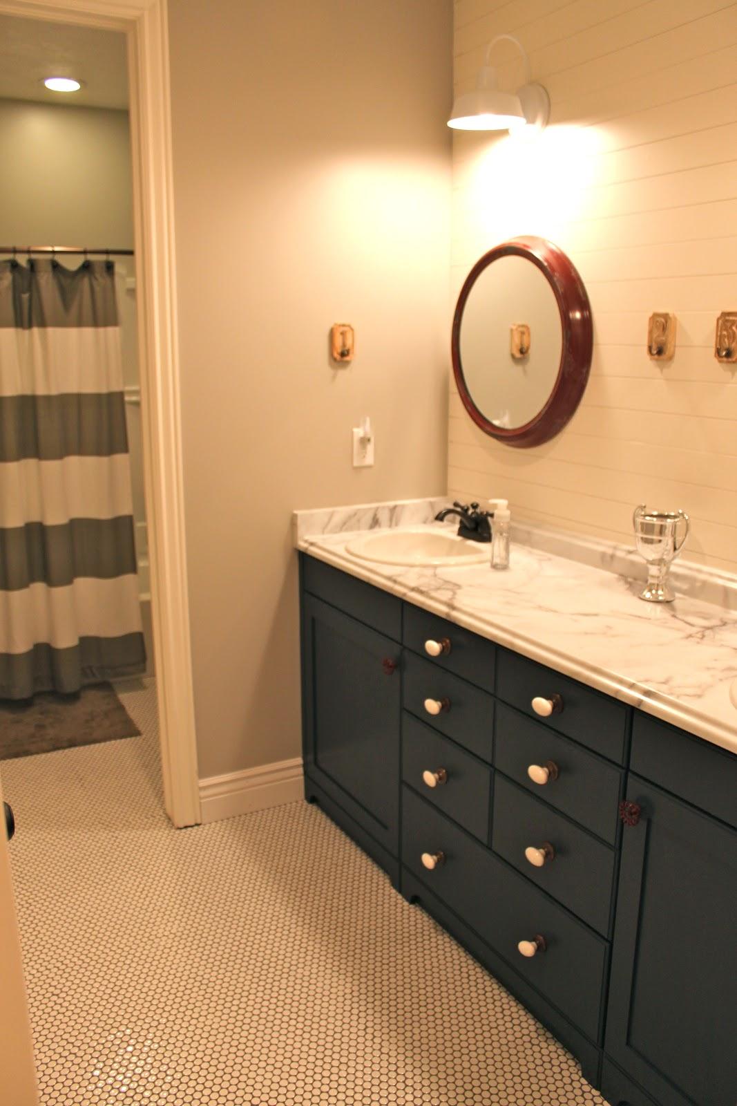 Amy S Casablanca Bathroom Sconce Update