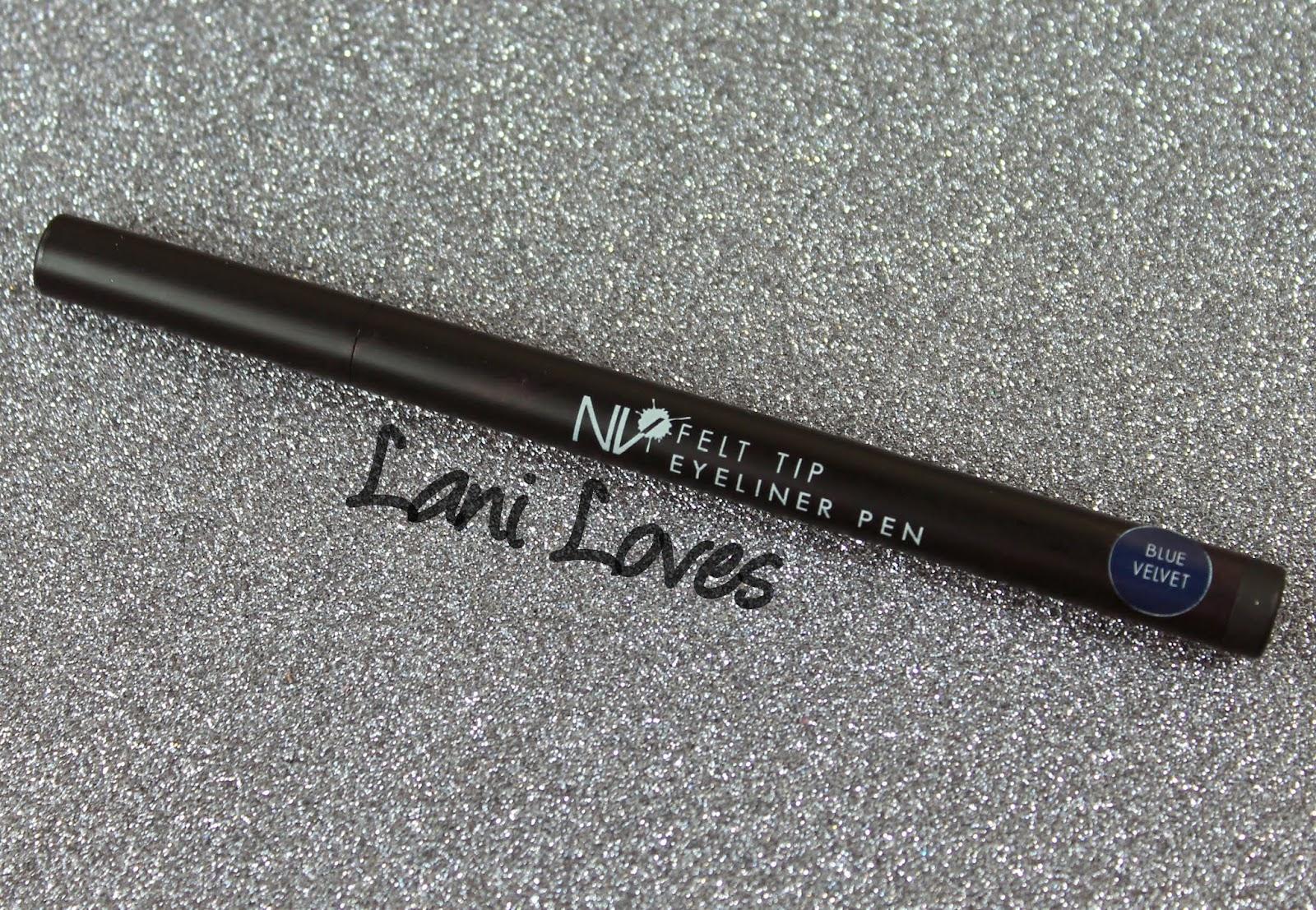 NV Felt Tip Eyeliner Pen - Blue Velvet preview