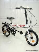 3 Sepeda Lipat ELEMENT DASH 7 Speed Shimano 16 Inci
