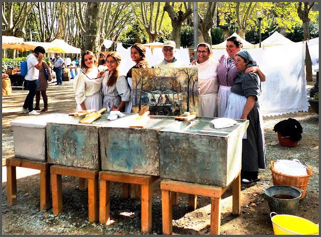 COLONIA GUELL-PINTURA-FESTA-MODERNISME-SANTA COLOMA DE CERVELLÓ-RECREACIONS-HISTÓRIQUES-FOTOS-QUADRES-ARTISTA-PINTOR-ERNEST DESCALS-