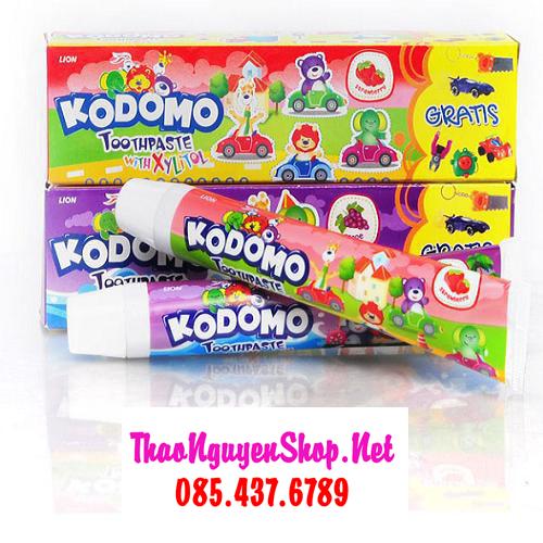 Kem đánh răng trẻ em Kodomo 45g - Hàng Thái Lan Giá Sỉ HCM