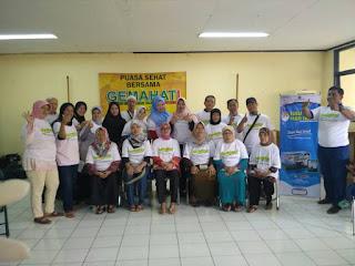Cek Kesehatan Gratis kepada Warga Kel. Kota Bambu Selatan, Palmerah  bersama GEMAHATI & SUSU HAJI SEHAT, 25 Mei 2017 Jakarta