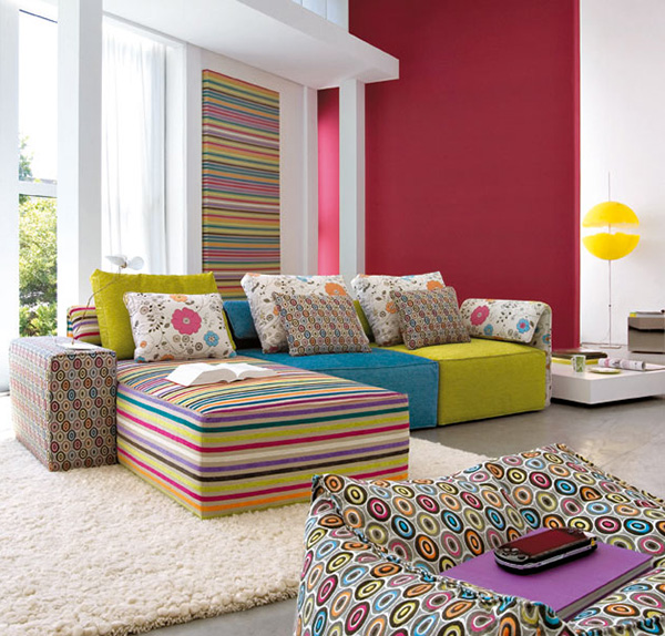 Neon Colors Interior Design Inspiration | Color Blocking In Interior