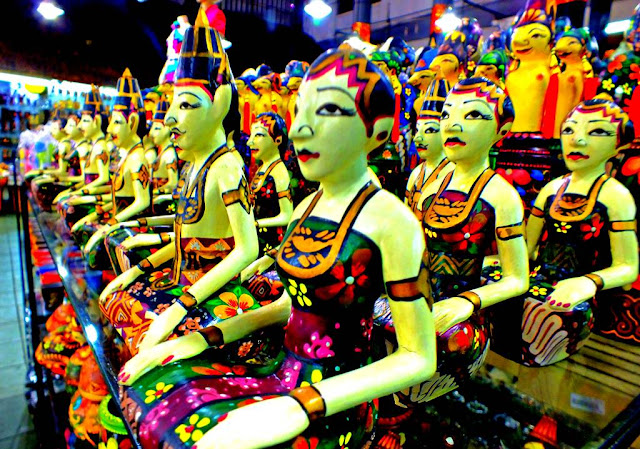 Those Bali's Puppets Look Like Wearing Javanese Traditional Costume