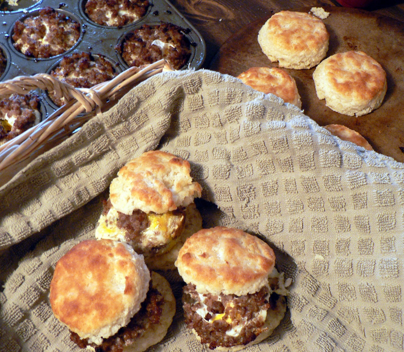 Breakfast Biscuit Sandwiches for a Crowd - Bless This Mess