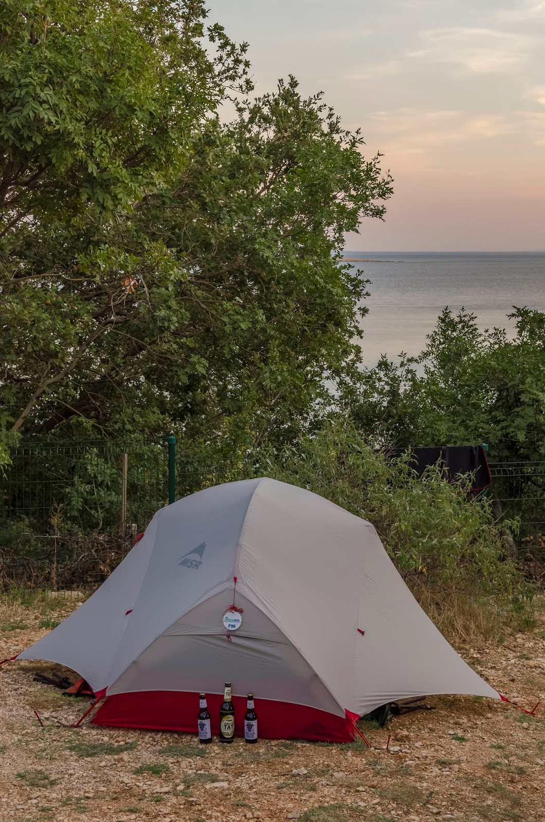 camping croatie roadtrip krk