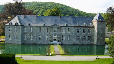 The castle of Annevoie