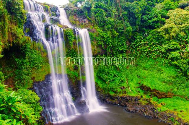 Tat Yuang Waterfall Champassak Laos