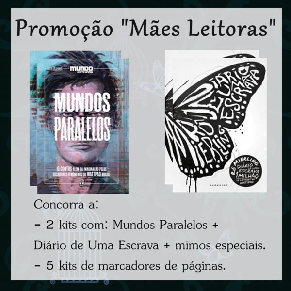 """Promoção Mães Leitoras"", com Rô Mierling e blogs parceiros (serão 7 ganhadores!)"