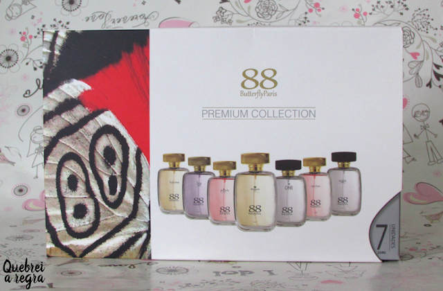 Mini perfumes da linha Premium Collection - 88ButteflyParis