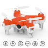 SKEYE Nano 2 FPV Selfie Drone With HD Camera - Worlds Smallest Quadcopter WiFi or Joystick Controlled with iOS Android - RTF Technology
