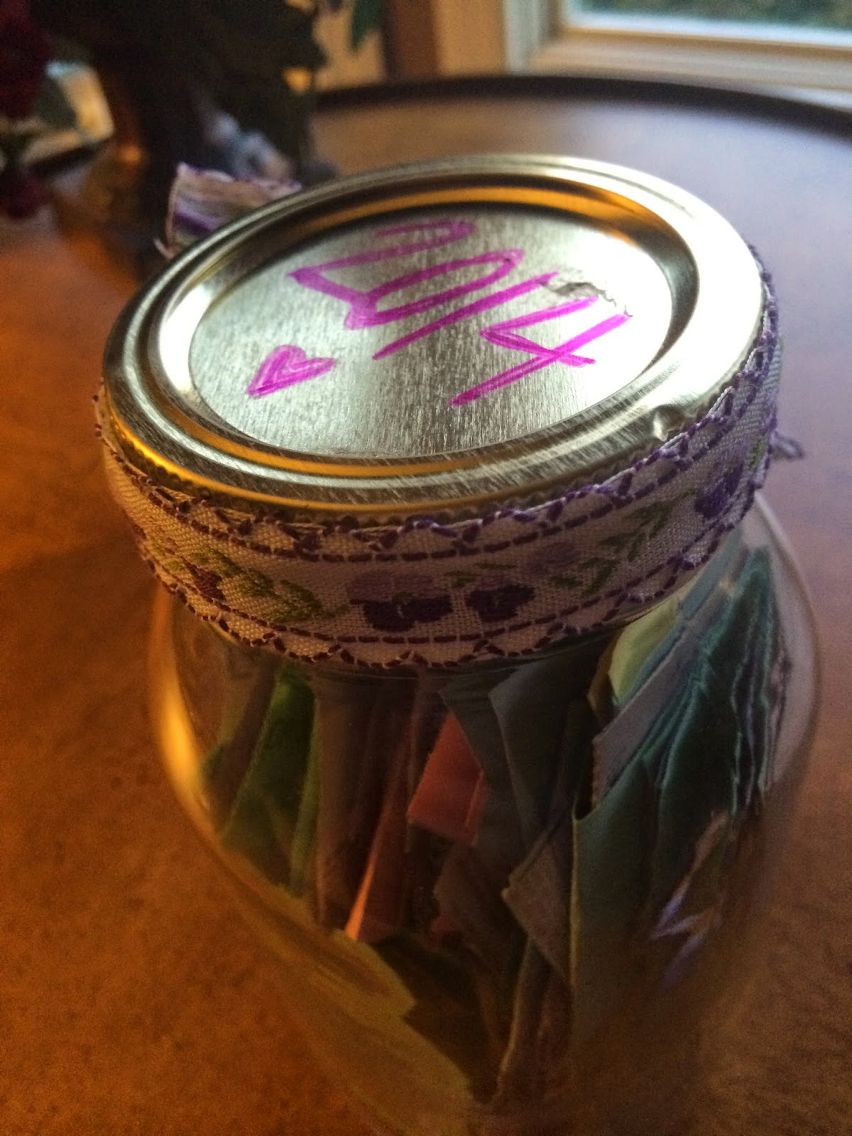 Yearly Inspiration Project: A Happiness Jar