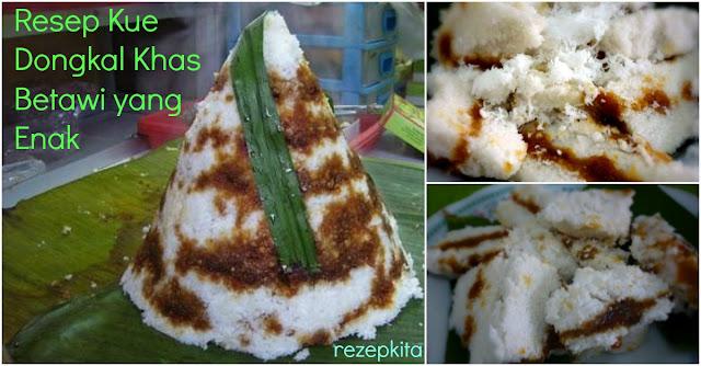Inilah Resep Dan Cara Membuat Kue Dongkal Khas Betawi Modal Rp