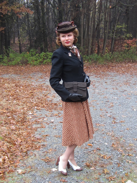 1940s Lutterloh outfit