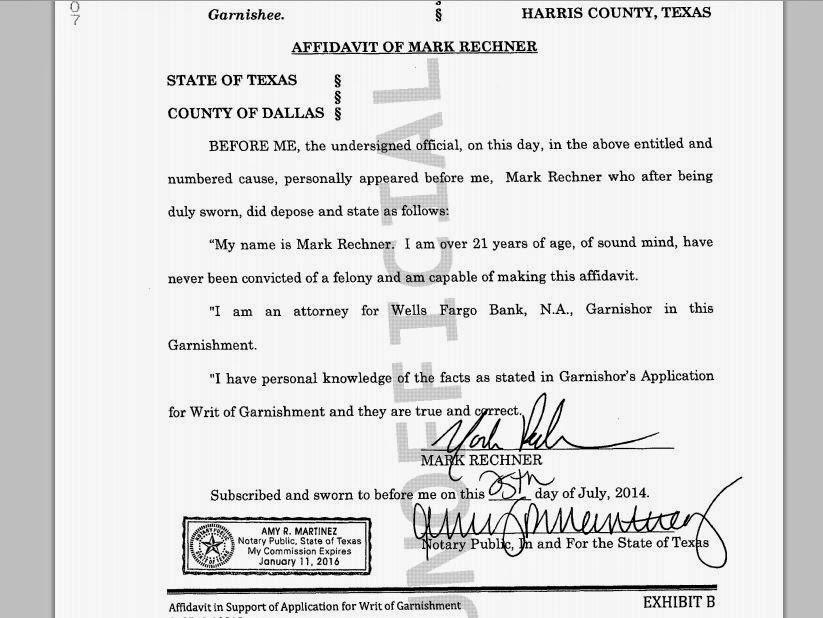 Consumer Debt Litigation Mostly Texas Mark Rechner