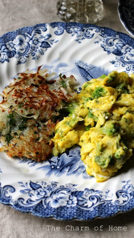 Delicate Herbed Potato Pancakes: The Charm of Home