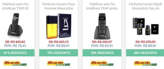 Produtos em Promoção no Site Ricardo Eletro