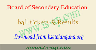 TS SSC hall tickets 2019, 10th result manabadi