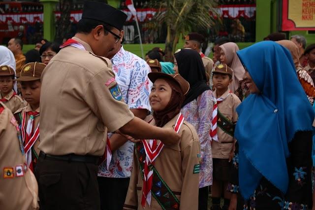 Apel Hari Pramuka ke-58 Kwarcab Kota Yogyakarta
