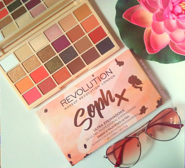 Makeup Revolution Soph X Eyeshadow Palette Review Swatches