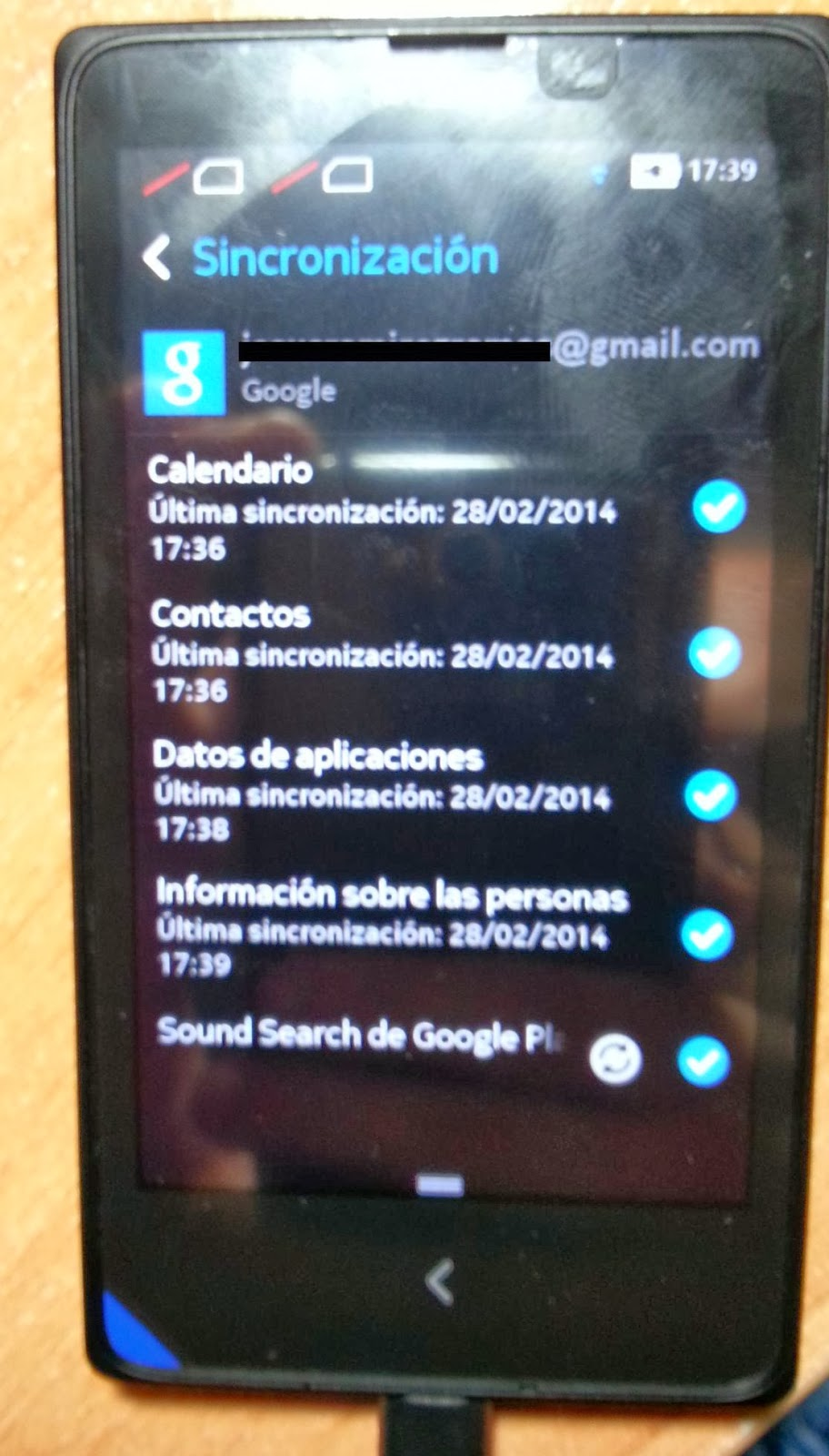Rooted Nokia X Running Google Apps