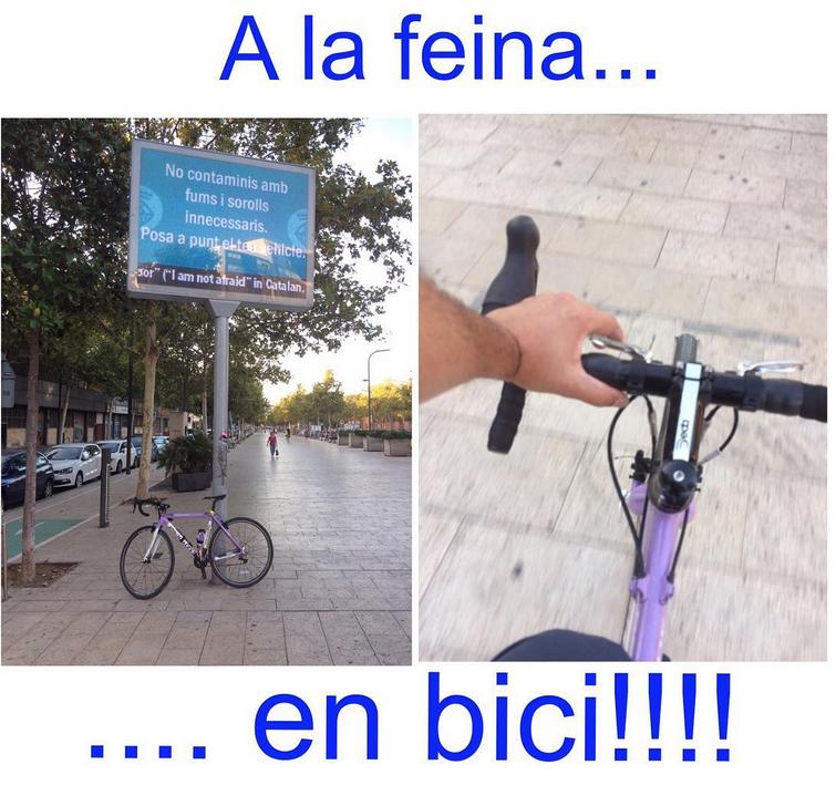 Ciclismo ninja barcelona for Trabajos en barcelona sin papeles