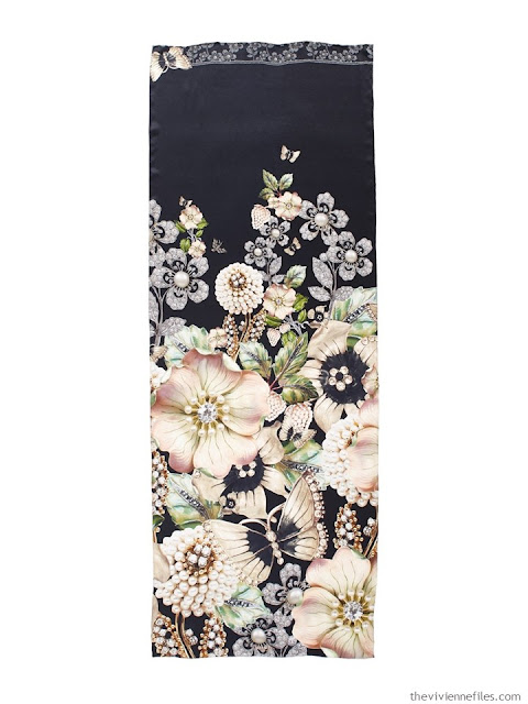 Garden Gems silk scarf by Ted Baker London