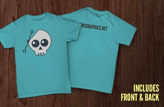 Free T-Shirt Mockup PSD Files