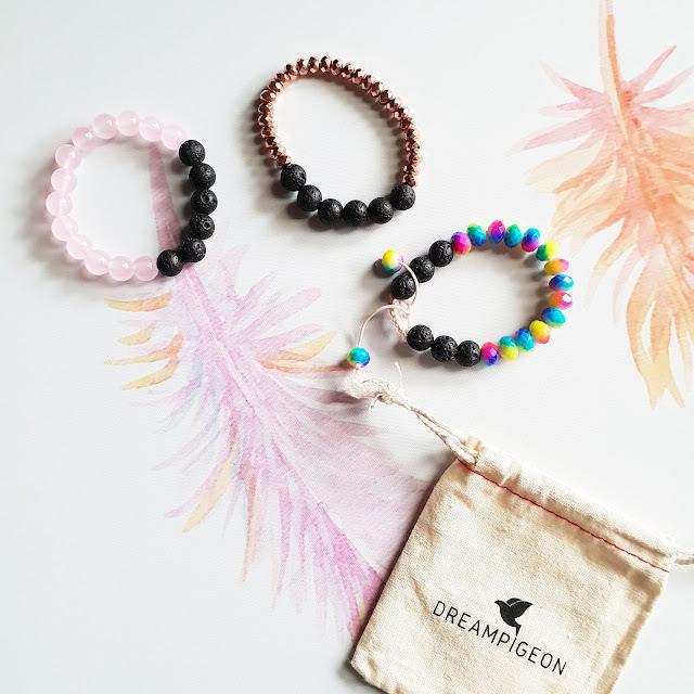 DreamPigeon lava diffuser bracelets | Almost Posh