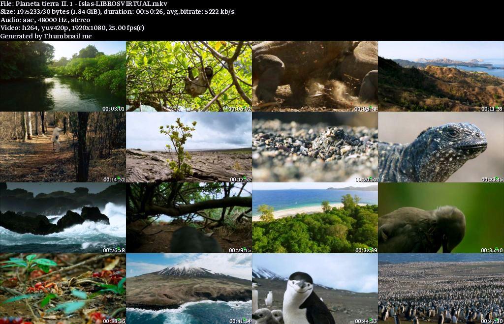 Planeta Tierra II: 1 – Islas [BBC – HD1080p]