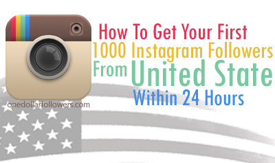 1000 USA Instagram Followers