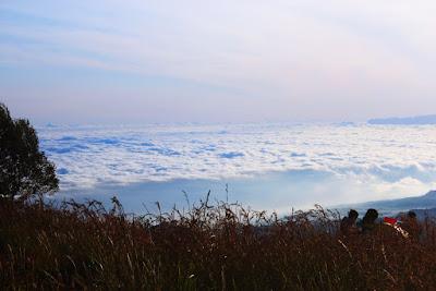lautan awan puncak b29