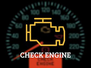 почему горит Check Engine