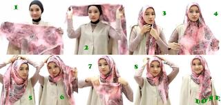 Kreasi Cara Menggunakan hijab Yang Pas dan Cocok untuk ke Kantor