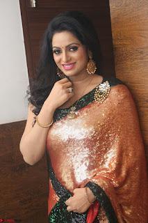 Udaya Bhanu lookssizzling in a Saree Choli at Gautam Nanda music launchi ~ Exclusive Celebrities Galleries 072.JPG