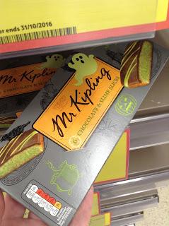 mr kipling chopcolate and slime slices