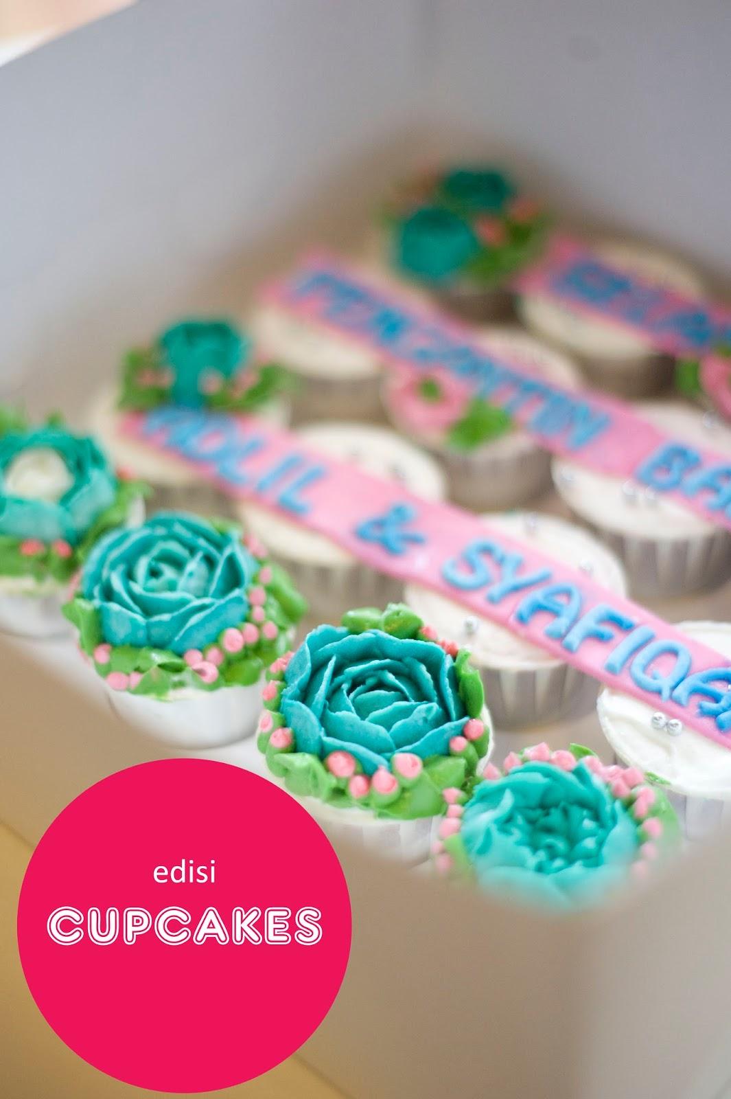 Cupcake Hantaran Yang Cantik Dan Murah Prettysmallbakery
