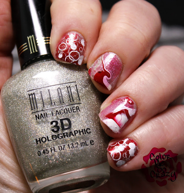 revlon, pretty little liars nails, mialni, sally hansen, water marble, giveaway